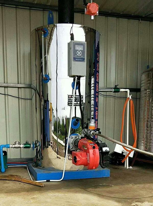 立式燃气常压热水锅炉