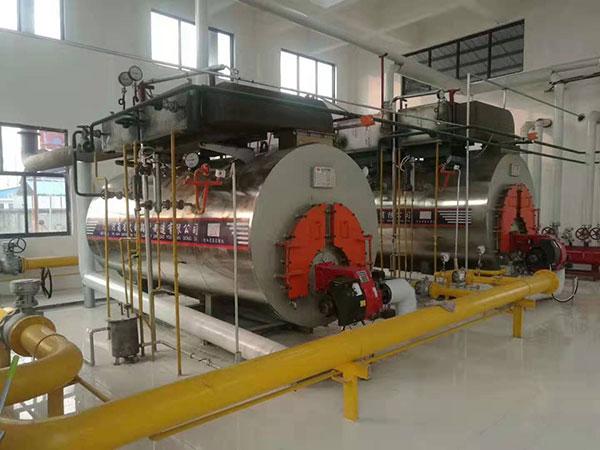 燃气冷凝低碳蒸汽锅炉